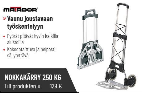 Nokkakärry 250 kg