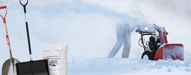Lumityökalut ja talvituotteet