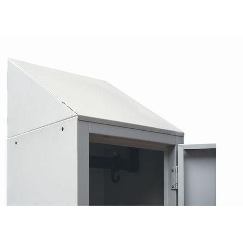 Kalteva katto Vaatekaappi Manutan Modulo
