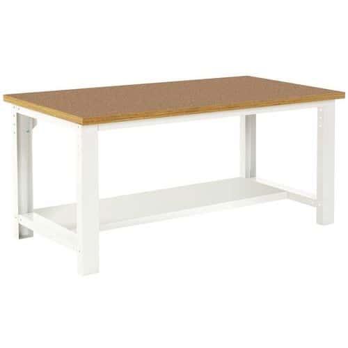 Työpöytä Bott 200 cm fenoli alahylly