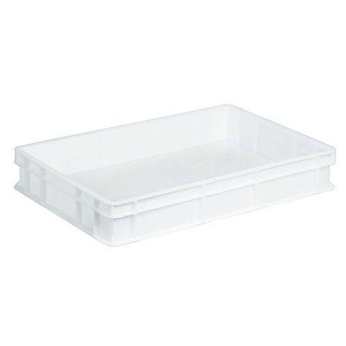 Muovilaatikko EU valkoinen