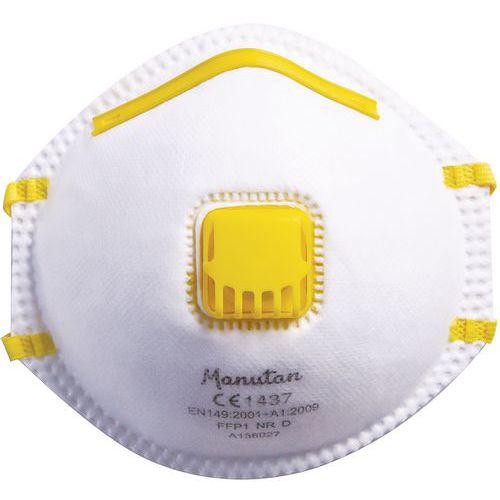 Taitettava puolinaamari FFP1 Manutan