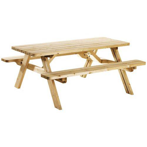 Retkipöytä kokoon taitettava