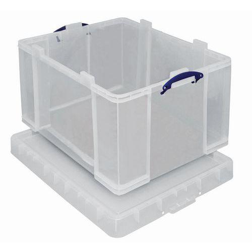 Säilytyslaatiko, läpinäkyvä Really Useful Box