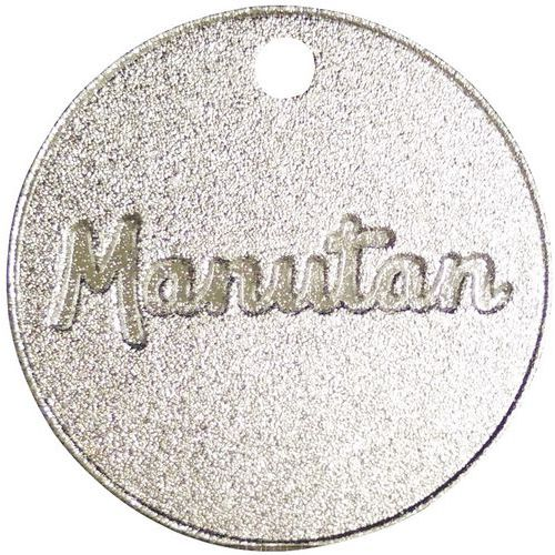 Numeroidut poletit 001 - 300, alumiini Manutan