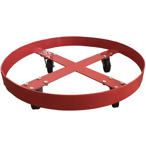 Pyöräalusta tynnyri 410 kg
