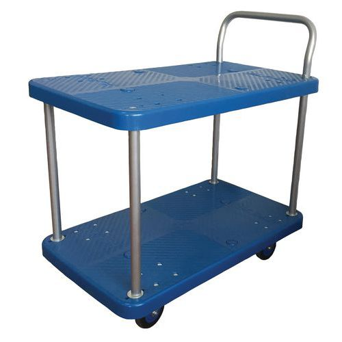 Pöytävaunu muovia 150 kg