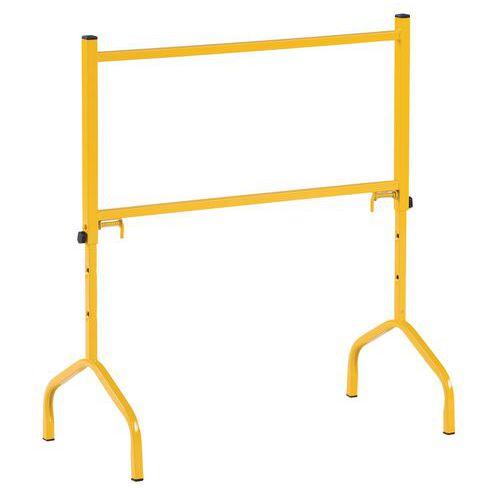 Keltainen, teräksinen työpukki 175 kg