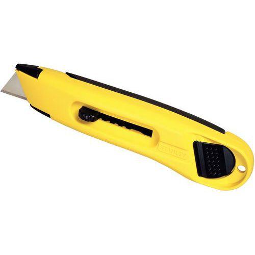 Taloudellinen veitsi, jossa sisäänvedettävä terä – terän leveys 19 mm