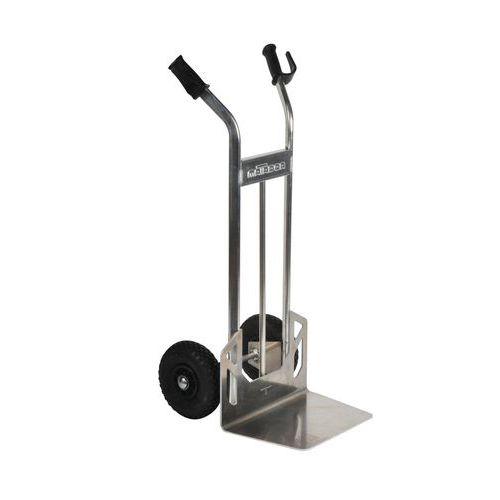 Alumiininen nokkakärry – paineilmarenkaat – kantokyky 200kg