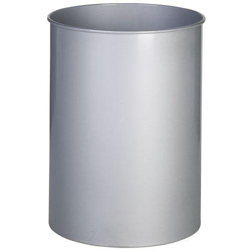 Roskasäiliö pyöreä metal. 15 L
