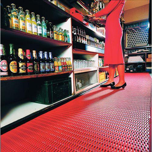 Työpistematto, Pehmeä lattiaritilä Floorline