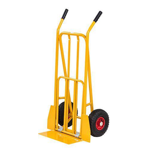 Pakettikärry Keltainen 250 kg