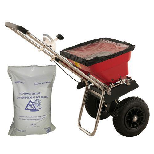 Paketti - Suolauskärry 37 kg + Suolaa 25 kg