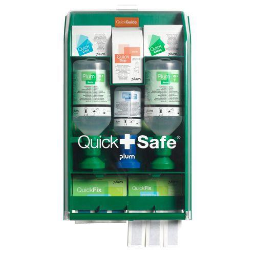Silmänhuuhteluasema QuickSafe elintarviketeollisuuteen