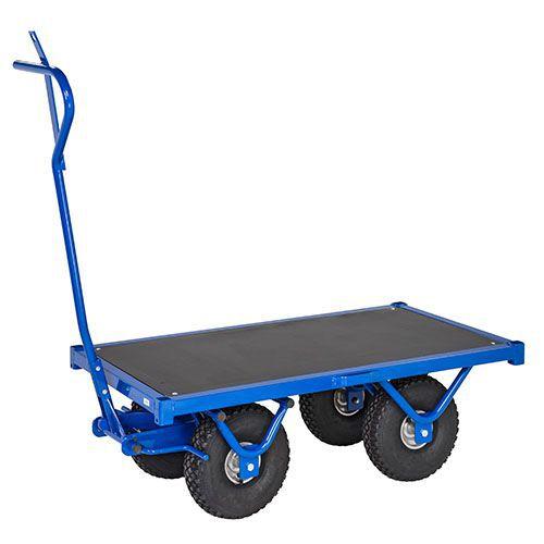 Kuljetusvaunu sininen
