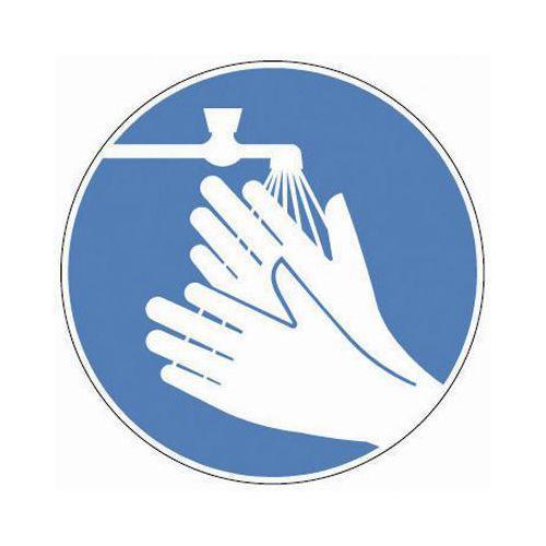 Määräyskilvet - Pese kädet