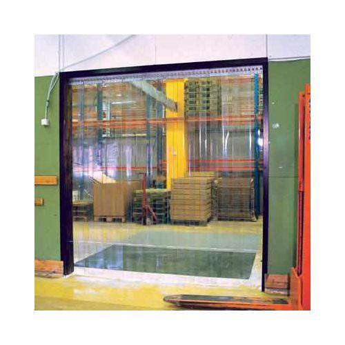 Työnnettävä PVC-verho 200 x 2 mm, vakiomalli