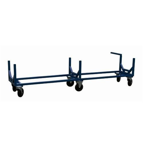 Kärry pitkille tavaroille sininen 800-1800 kg 3 m