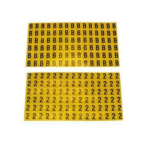 Itsekiinnittyvät kirjaimet ja luvut, 8,5 x 12,5 mm