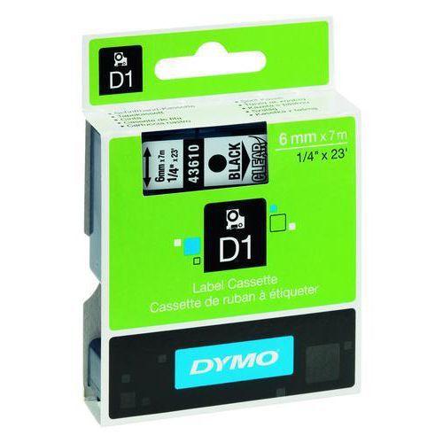 Tarrakirjoitinnauha Dymo D1, 6 mm
