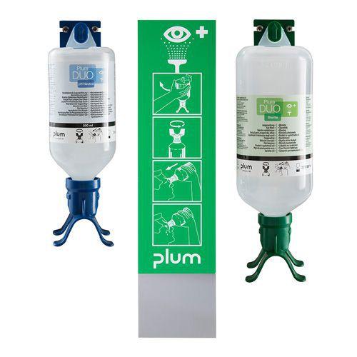 Silmähuuhdeteline Plum Duo Kombi