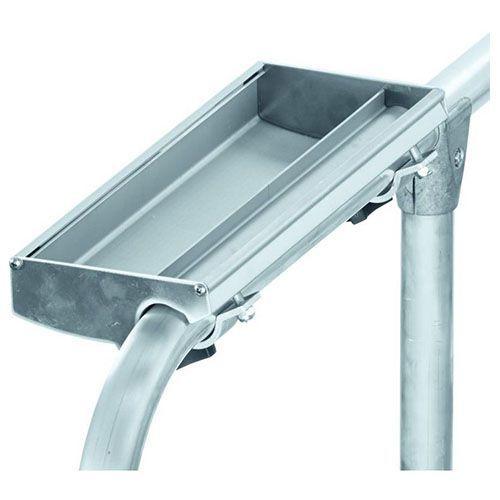 Tarvikkeita Siirrettävät portaat Zarges. Työkalujen ja tarvikkeiden säilytykseen. Kiinnitetään 36-40 mm läpimi