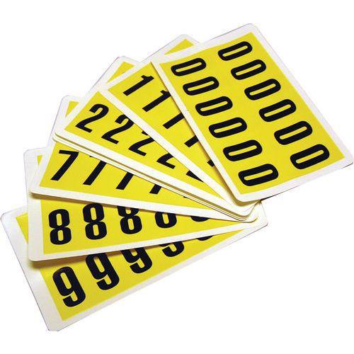 Täydellinen numeropaketti, numerot 0-9