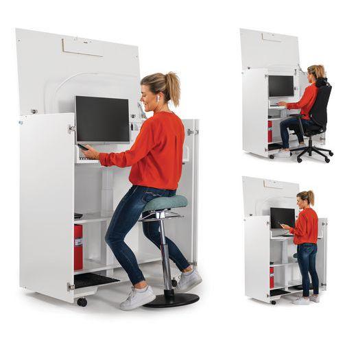 Liikuteltava työasema Cubic